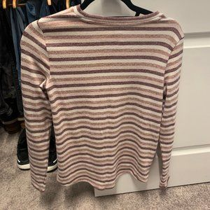 American Eagle Blue & Orange Soft Plush Sweater